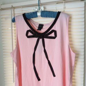 INC Pink Top Sz 2X Rayon